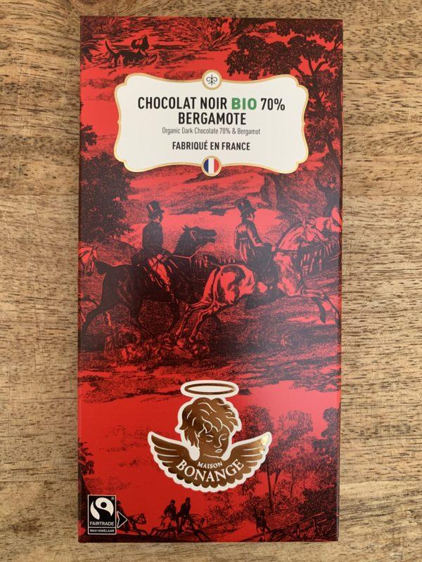 Chocolat Noir Bergamote