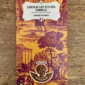 Chocolat Lait Cannelle