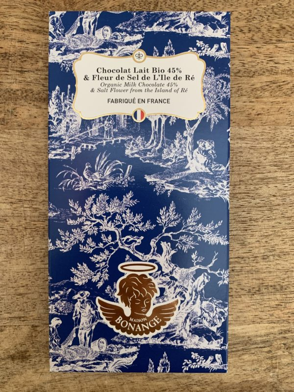 Chocolat Lait - Fleur de seil