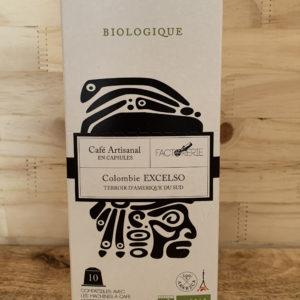 Café capsule Bio
