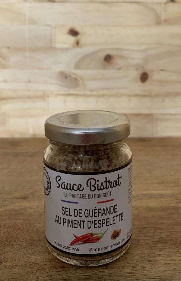 Sel de Guérande Piment d'Espelette